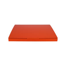 Book Box Twist Mailer 5 - Premium Gloss Orange (White Inside)
