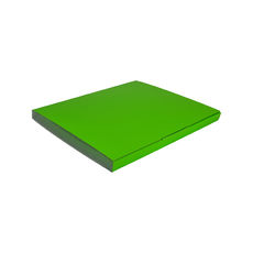 Book Box Twist Mailer 7 - Premium Gloss Lime Green (White Inside)