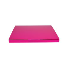 Book Box Twist Mailer 7 - Premium Gloss Hot Pink (White Inside)