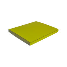 Book Box Twist Mailer 7 - Premium Gloss Yellow (White Inside)