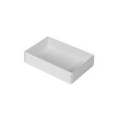 Rectangle 6 Gift Box with Clear Lid - Paperboard