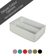 12 Macaron Box with insert & Clear Lid - Assorted Colours (Minimum Order 100 units)