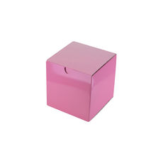 Candle Box 80/80 - Premium Gloss Baby Pink (White Inside)