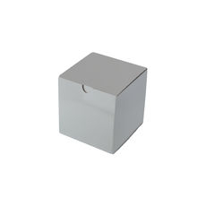 Candle Box 80/80 - Premium Gloss White (White Inside)