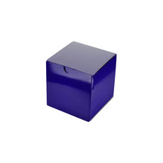 Candle Box 80/80 - Premium Gloss Purple (White Inside)