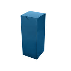 Candle Box 80/100 - Premium Matt Navy Blue (White Inside) Temp out of Stock