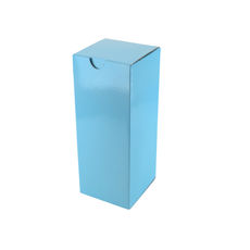 Candle Box 80/150 - Premium Matt Baby Blue (White Inside)