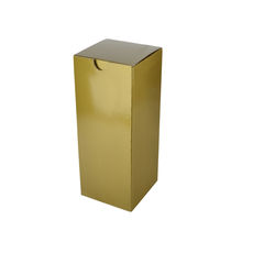 Candle Box 80/150 - Premium Gloss Gold (White Inside)