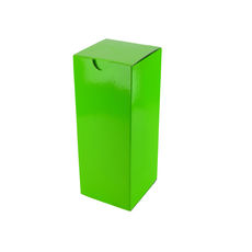 Candle Box 80/150 - Premium Gloss Lime Green (White Inside)