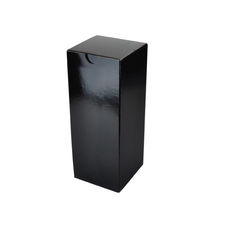 Candle Box 80/150 - Premium Gloss Black (White Inside)