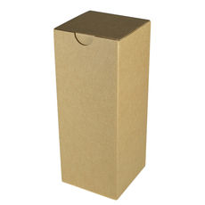 Candle Box 80/200 - Brown Cardboard (Brown Inside)