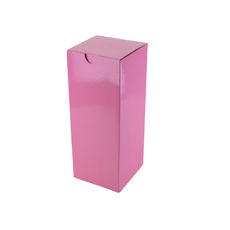 Candle Box 80/200 - Premium Gloss Baby Pink (White Inside)