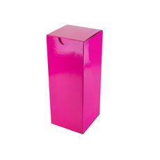 Candle Box 80/200 - Premium Gloss Hot Pink (White Inside)