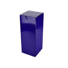 Candle Box 80/200 - Premium Gloss Purple (White Inside)