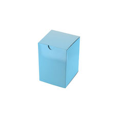 Candle Box 55/80 - Premium Gloss Baby Blue (White Inside)