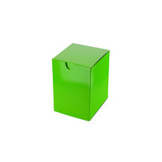 Candle Box 55/80 - Premium Gloss Lime Green (White Inside)