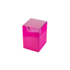 Candle Box 55/80 - Premium Gloss Hot Pink (White Inside)