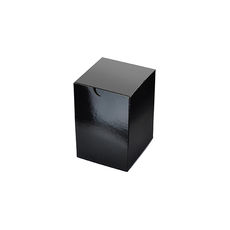 Candle Box 55/80 - Premium Gloss Black (White Inside)