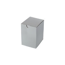 Candle Box 55/80 - Premium Gloss White (White Inside)