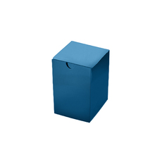 Candle Box 55/80 - Premium Matt Navy Blue (White Inside)
