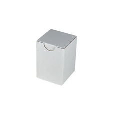 Candle Box 55/80 - White Cardboard (White Inside)