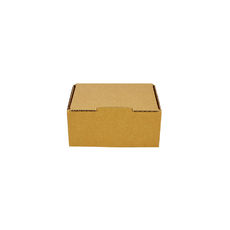 One Piece Postage Box 9557 - Kraft Brown (Brown Inside)