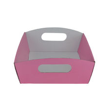 Small Hamper Tray - Premium Matt Baby Pink (White Inside)