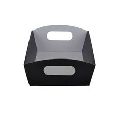 Mini Hamper Tray - Premium Gloss Black (White Inside)