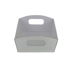Mini Hamper Tray - Premium Gloss White (White Inside)