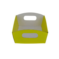 Mini Hamper Tray - Premium Gloss Yellow (White Inside)
