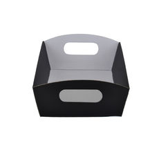 Mini Hamper Tray - Premium Matt Black (White Inside)