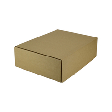 One Piece Postage Box 9991 - Kraft Brown (Brown Inside)