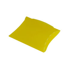 Transparent Pillow Pack - 120mm - Frosted Yellow