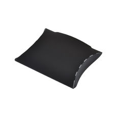 Transparent Pillow Pack - 70mm - Solid Black