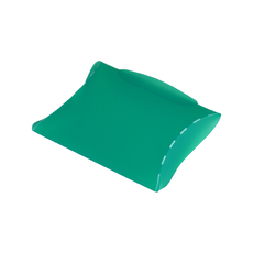 Transparent Pillow Pack - 70mm - Frosted Lime Green