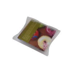 Transparent Pillow Pack - 110mm - Frosted Clear