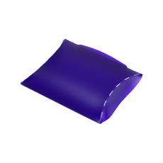 Transparent Pillow Pack - 110mm - Frosted Purple