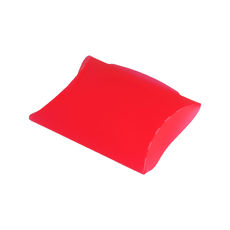 Transparent Pillow Pack - 110mm - Frosted Red