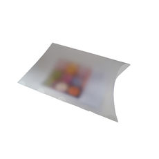 Transparent Pillow Pack - 195mm - Frosted Clear