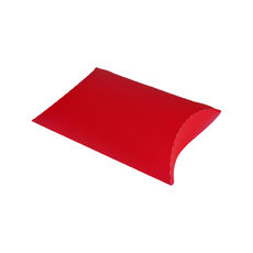 Transparent Pillow Pack - 195mm - Frosted Red
