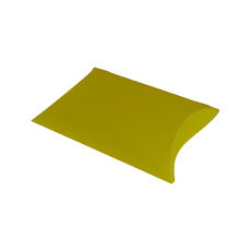 Transparent Pillow Pack - 195mm - Frosted Yellow