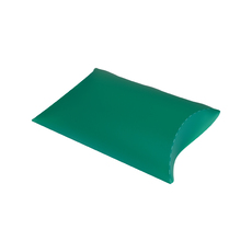 Transparent Pillow Pack - 195mm - Frosted Lime Green
