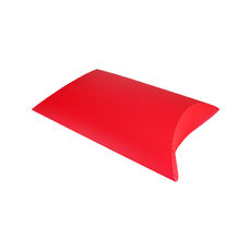 Transparent Pillow Pack - 335mm - Frosted Red