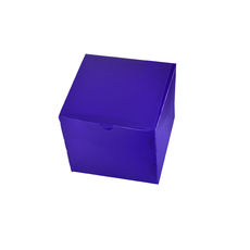 Transparent Gift Box - Small - Frosted Purple