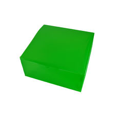 Transparent Gift Box - Large - Frosted Midori Light Green