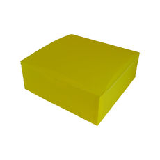 Transparent Gift Box - Extra Large - Frosted Yellow