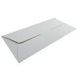 DL Gift Voucher Pouch - Smooth White (215 x 105 x 2mm)