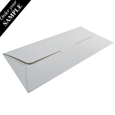 SAMPLE - DL Gift Voucher Pouch - Smooth White (215 x 105 x 2mm) - Paperboard