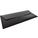 DL Gift Voucher Pouch - Gloss Black (215 x 105 x 2mm)  - Paperboard