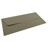 DL Gift Voucher Pouch - Recycled Brown (215 x 105 x 2mm) (Brown Inside)